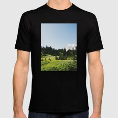 Mt Rainier Shooter Mens Fitted Tee Black LARGE