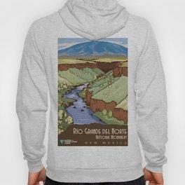 Vintage Poster - Rio Grande del Norte National Monument, New Mexico (2015) Hoody