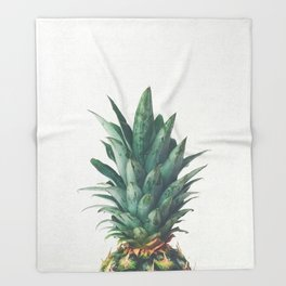 Pineapple Top Throw Blanket