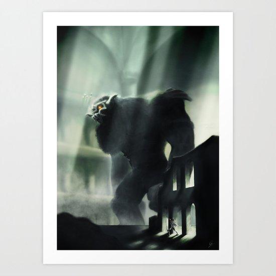 Barba the Colossus Art Print
