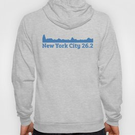 Run New York City Elevation Map 26.2 NYC Hoody