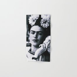 Frida Kahlo Smoke Hand & Bath Towel