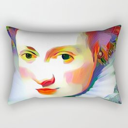 Historic Beauty Rectangular Pillow