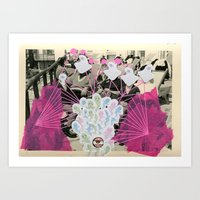 ghostbusters Art Prints featuring Ghostbusters by Naomi Vona