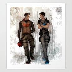 RedHood  Agent37 Art Print