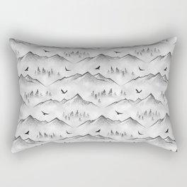 Eagle Mountain Rectangular Pillow