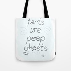 Ghost Poop Tote Bag