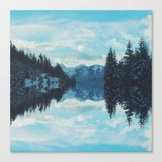 British Columbia Reflections Canvas Print
