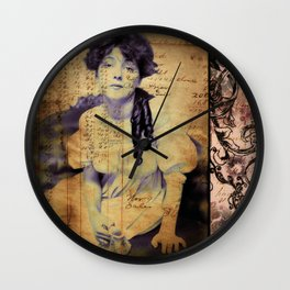 After The Tea Party Wall Clock