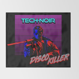 Disco Killer Throw Blanket