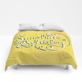 Sunshine & Whiskey Comforters