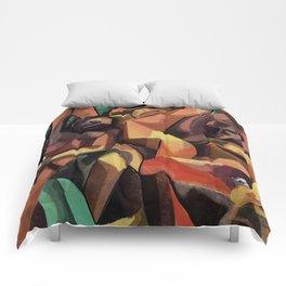 Selfie Cubista Comforters