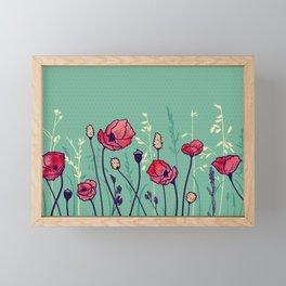 Summer Field Framed Mini Art Print
