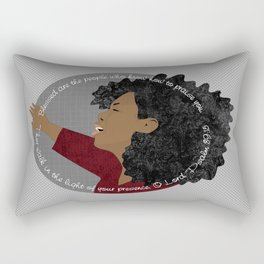 Psalm 89:15 Rectangular Pillow