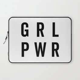 GRL PWR / Girl Power Quote Laptop Sleeve