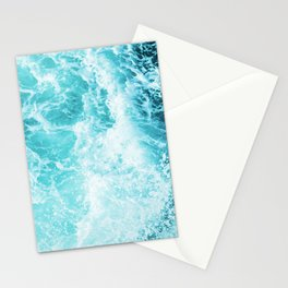 Perfect Sea Waves Stationery Cards