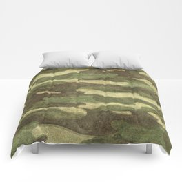 Distressed Camouflage Comforters