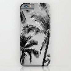Black Palm Trees Slim Case iPhone 6