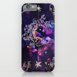 Moon Over Neverland iPhone Case