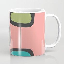 Pink Square Pods Coffee Mug