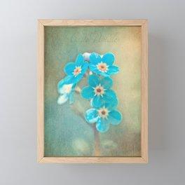tiny treasures Framed Mini Art Print