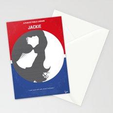 No755 My Jackie minimal movie poster Stationery Cards