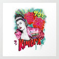 Kimbra 90s Music Art Print
