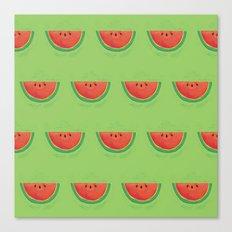 Mmmmm....Watermelon Canvas Print