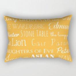 Narnia Celebration - Marigold Rectangular Pillow