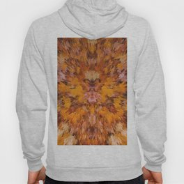 Autumn leaves in abstract Hoody