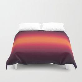 Sunset Tie Dye Gradient Colors Spectrum Harmony Duvet Cover
