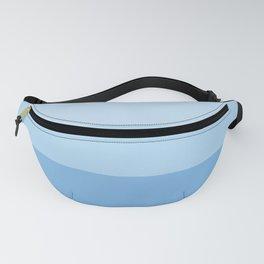Blue Glass Pastel Stripe Fanny Pack