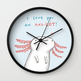 Lotl Love Wall Clock