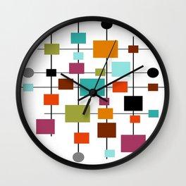 Mid-Century Modern Art 1.3.1 Wall Clock