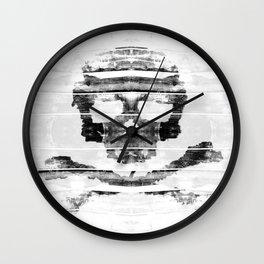 Bitter Bone Skull Wall Clock
