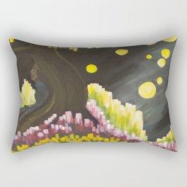 Lights in a Dream Rectangular Pillow