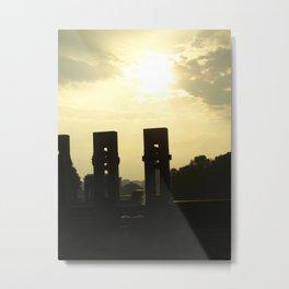 Sunset Memorial Metal Print
