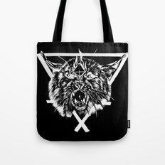Fire Lynx Tote Bag