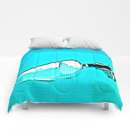 Blue Steel Comforters