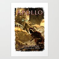 Apollo - Cover Art Art Print