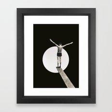 Risk (2015) Framed Art Print