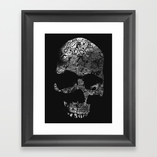 Endless Doodle Framed Art Print