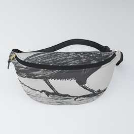 Observant Crow Fanny Pack