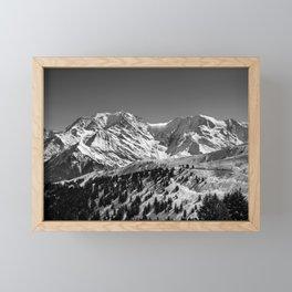 Mt. Blanc Framed Mini Art Print