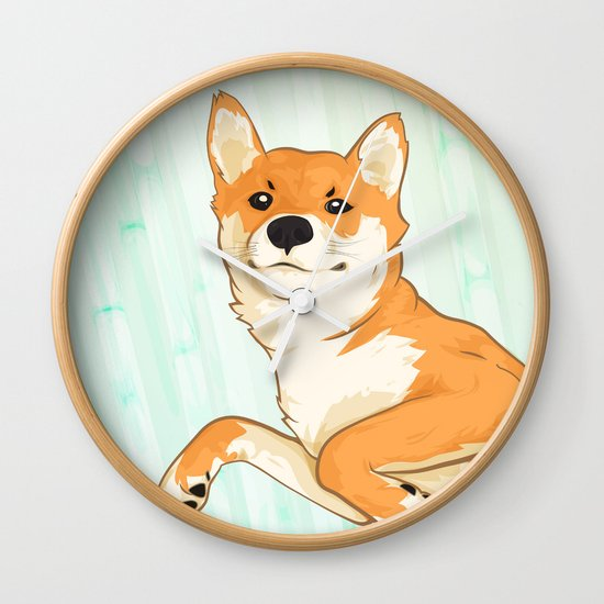 I am not a fox! Wall Clock