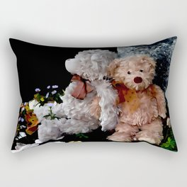 Teddy Bear Buddies Rectangular Pillow