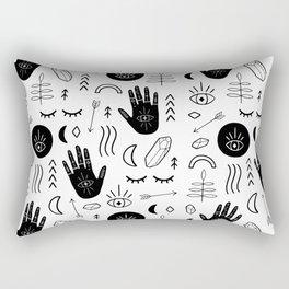 Witchy Patterns Rectangular Pillow