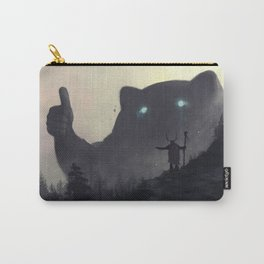 yo bro is it safe down there in the woods? yeah man it's cool Carry-All Pouch