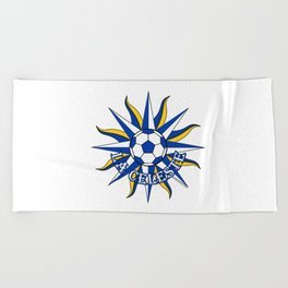 Uruguay La Celeste (The Sky Blue) ~Group A~ Beach Towel