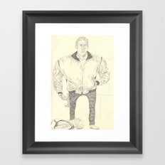 Hammer Framed Art Print